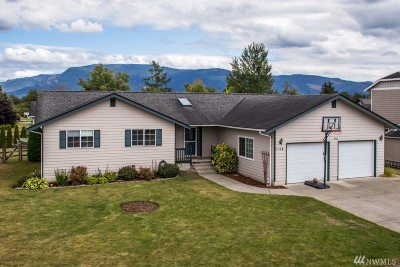 Everson Single Family Home For Sale: 114 Evergreen Wy