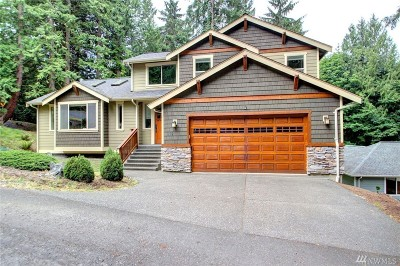 Bellingham Single Family Home Contingent: 109 Grand View Lane
