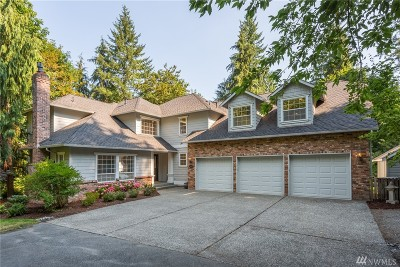 Woodinville Single Family Home For Sale: 21648 NE 165th St