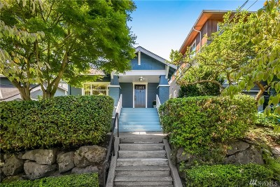 Seattle Single Family Home For Sale: 2211 Calhoun St