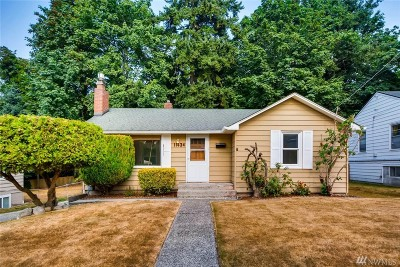 Seattle Single Family Home For Sale: 11434 71st Place S