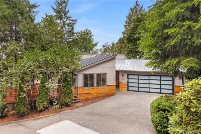 Mercer Island Single Family Home For Sale: 5022 W Mercer Wy