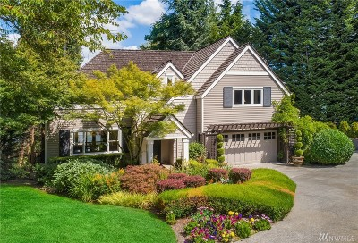 Mercer Island Single Family Home For Sale: 9820 SE 35th Place