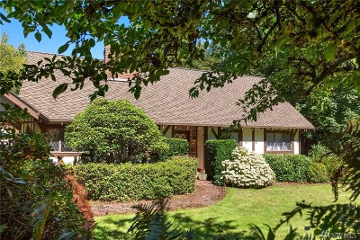 Edmonds Single Family Home For Sale: 6705 Fisher Rd