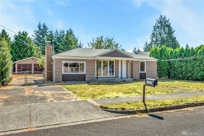 Tacoma Single Family Home For Sale: 8427 S Fawcett Ave