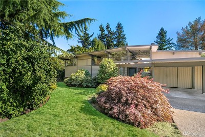 Bellevue Single Family Home For Sale: 12411 SE 25th Place
