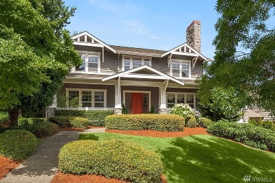 Bellevue Single Family Home For Sale: 16352 SE 48th Dr