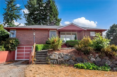 Seattle Single Family Home For Sale: 2101 N 88th St