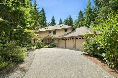 Issaquah Single Family Home For Sale: 25827 SE 154th St
