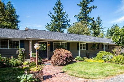 Olympia Single Family Home For Sale: 5700 93rd Ave SE