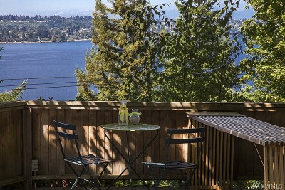 Mercer Island Single Family Home For Sale: 4460 Forest Ave SE