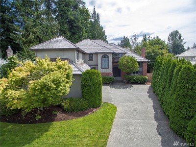 Issaquah Single Family Home For Sale: 4610 243rd Ct SE