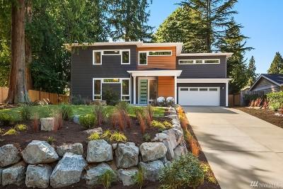 Kirkland Single Family Home For Sale: 11225 110th Ave NE