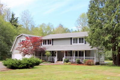 Olympia Single Family Home For Sale: 8045 Spurgeon Creek Rd SE