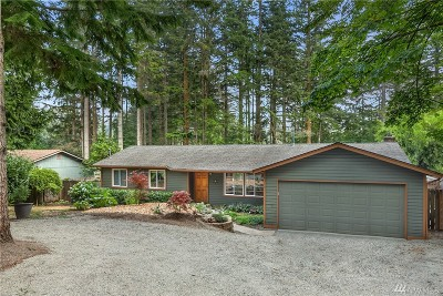 North Bend WA Single Family Home For Sale: $420,000