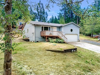 Olympia Single Family Home For Sale: 9726 Mariner Dr NW