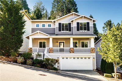 Bothell Single Family Home For Sale: 12305 NE 203rd St #93
