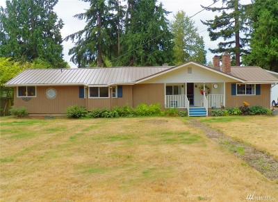 Stanwood Single Family Home For Sale: 8218 320th Place NW