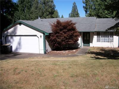 Olympia Single Family Home For Sale: 11932 Shoreview Dr SW