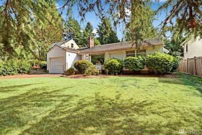 Seattle Single Family Home For Sale: 2725 NE 100th St