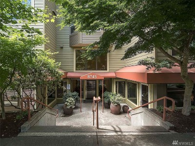 Seattle Condo/Townhouse For Sale: 8745 Greenwood Ave N #308