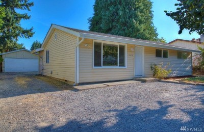 Tacoma Single Family Home For Sale: 1619 S 84th St