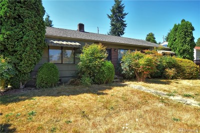 Seattle Single Family Home For Sale: 10223 36th Ave SW