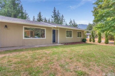North Bend WA Single Family Home For Sale: $390,000