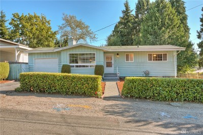 Seattle Single Family Home For Sale: 645 SW 127th St