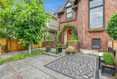 Tacoma Single Family Home For Sale: 815 N G St