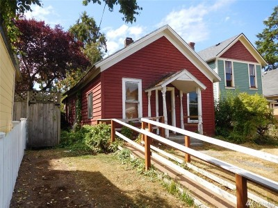 Bellingham Single Family Home For Sale: 1405 Grant St