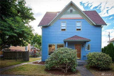 Bellingham Single Family Home For Sale: 2523 Utter St