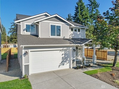 Spanaway Single Family Home For Sale: 16521 A St S