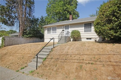 Seattle, Bellevue, Kenmore, Kirkland, Bothell Single Family Home For Sale: 5136 S Brighton St