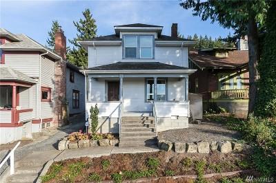Bellingham Single Family Home For Sale: 704 N Garden St