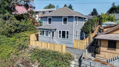 Seattle Single Family Home For Sale: 4034 38th Ave S