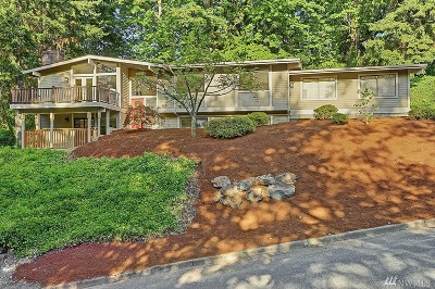 Bellevue Single Family Home For Sale: 4412 152nd Place SE