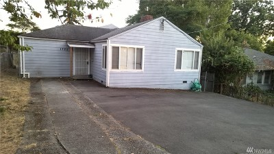 Seattle Single Family Home For Sale: 1725 S Shelton St