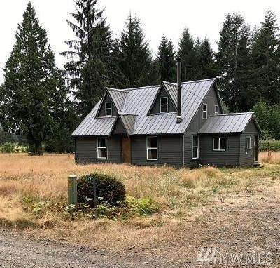 Forks WA Single Family Home For Sale: $137,800