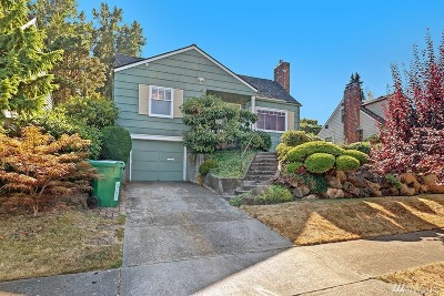 Seattle Single Family Home For Sale: 5015 Ivanhoe Place NE
