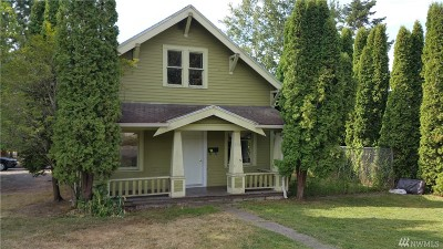 Bellingham WA Single Family Home For Sale: $250,000