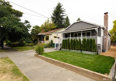 Seattle Single Family Home For Sale: 608 NW 77th St