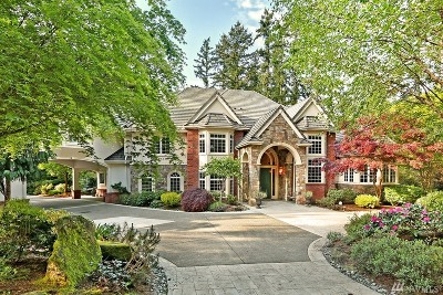 Woodinville Single Family Home For Sale: 17350 152nd St
