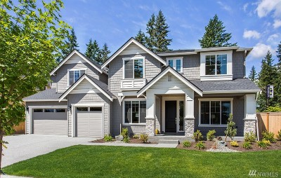 Bothell Single Family Home For Sale: 235 239th (Lot 1) St SE