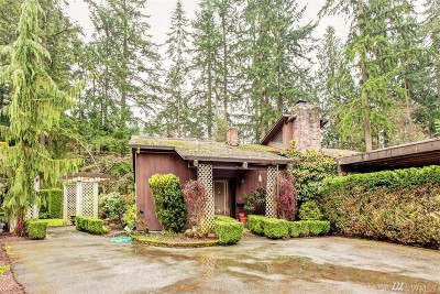 Bothell Single Family Home For Sale: 19419 Grannis Rd