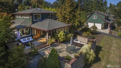 Snohomish Single Family Home For Sale: 14708 Connelly Rd