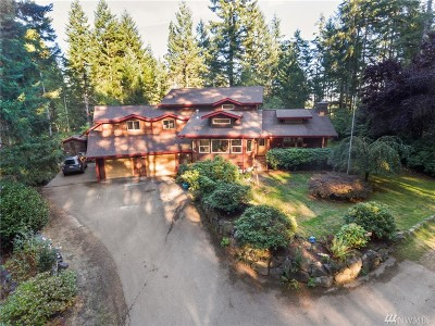 Port Orchard Single Family Home For Sale: 9561 Mountain Beaver Rd SW