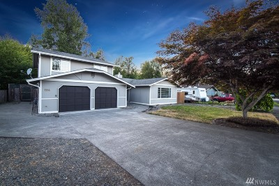 Puyallup Single Family Home For Sale: 1114 17th St SW