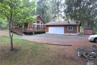 Mason County Single Family Home For Sale: 71 E Conifer Crest