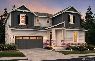Gig Harbor Single Family Home For Sale: 3991 Brothers (Lot 1-01) Ct